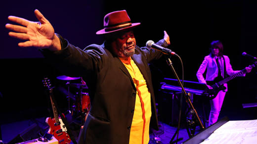 Stew performs 'Notes of a Native Song' at Bing Hall at Stanford
