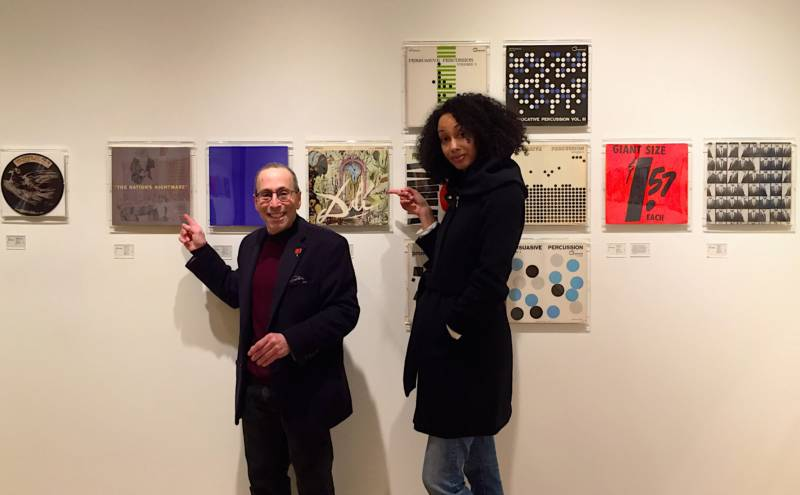 The Do List's Cy and Ariana check out the 'Art and Vinyl' show at the Freaenkel Gallery