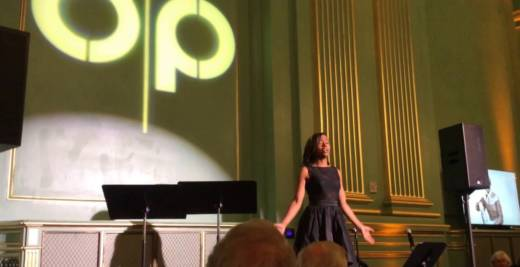 Tiffany Austin sings an excerpt from of 'Harriet's Spirit' for Opera Parallèle.