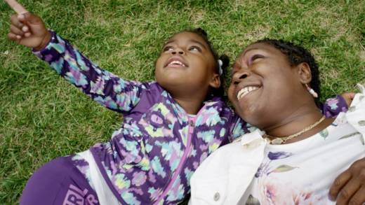 Tiffany McClendon, right, with daughter Emily in the documentary 'Tender Souls.'