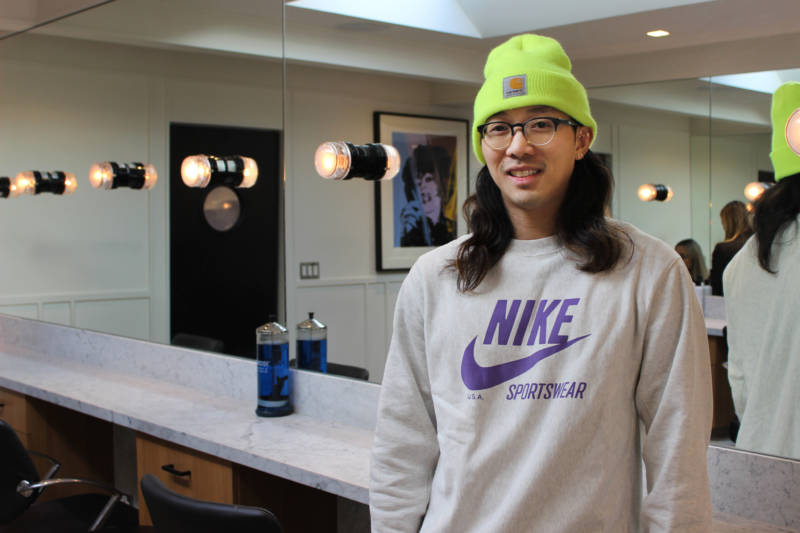 Bryan Gaw: dancer with Katy Perry's touring ensemble, hair stylist, Left Shark.