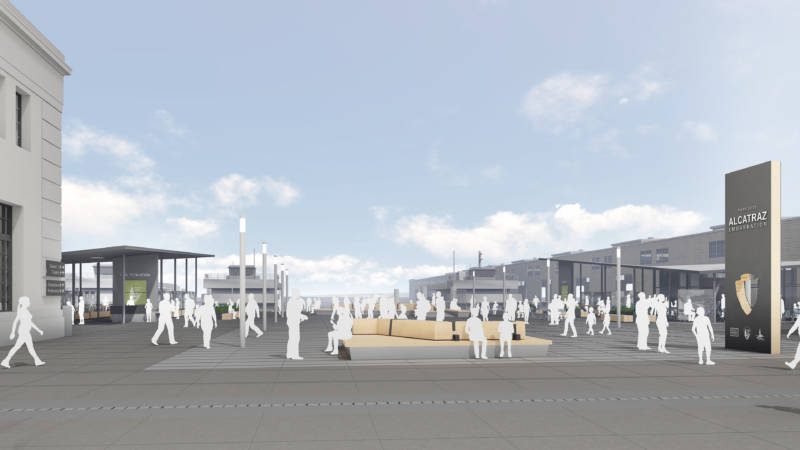 Plans for the proposed entrance to Pier 31 1/2.