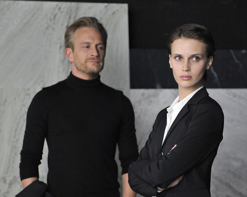 Jérémie Renier and Marine Vacth in 'Double Lover.'