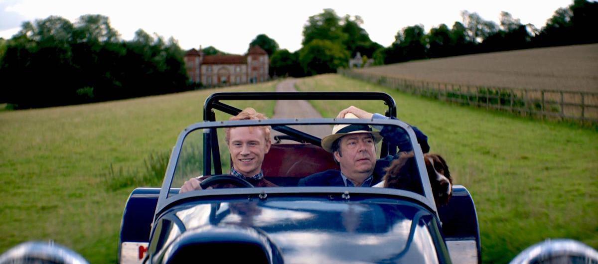 Roger Allam and Dean Ridge in 'The Hippopotamus.'