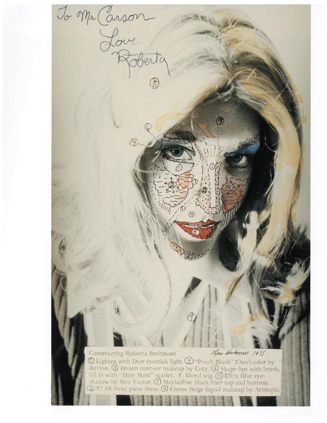 Lynn Hershman Leeson, 'Constructing Roberta Breitmore,' 1975.