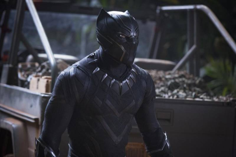 T'Challa's Black Panther suit.