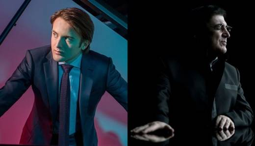 Daniil Trifonov and Sergei Babayan play a piano recital for four hands at SF Symphony Feb. 28 in Davies Hall