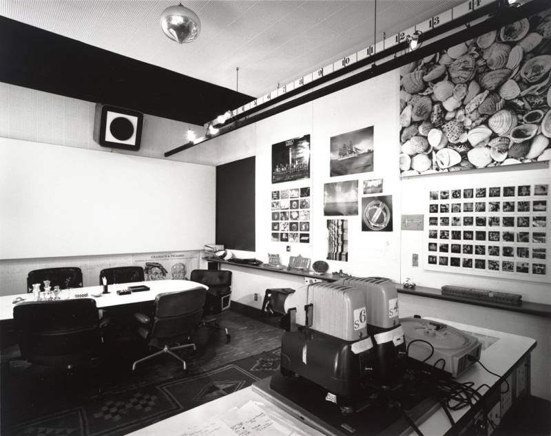 Charles and Ray Eames, Eames Office conference room, 1944–89.