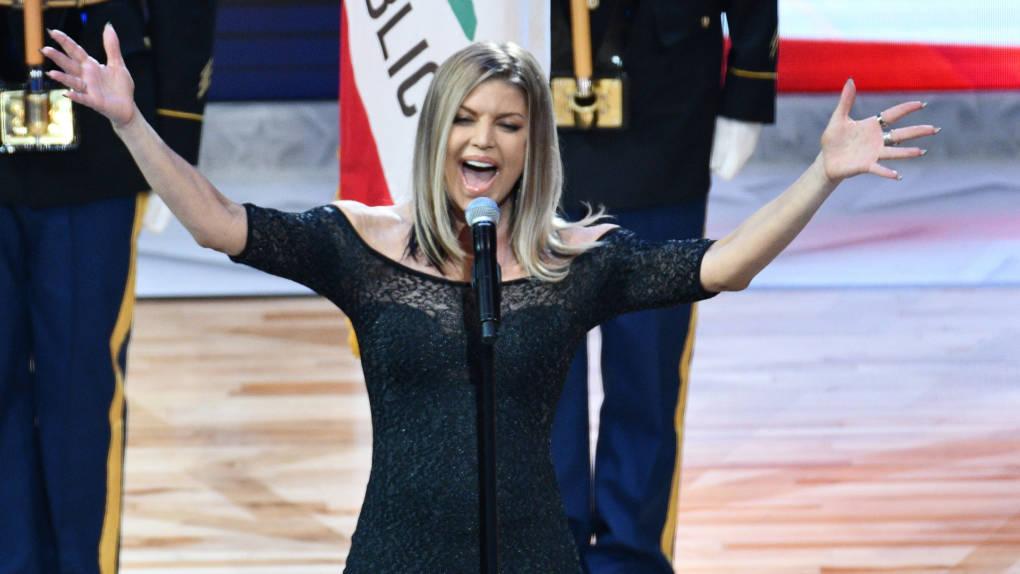 Fergie Responds to National Anthem Blowback: 'I Tried My ...