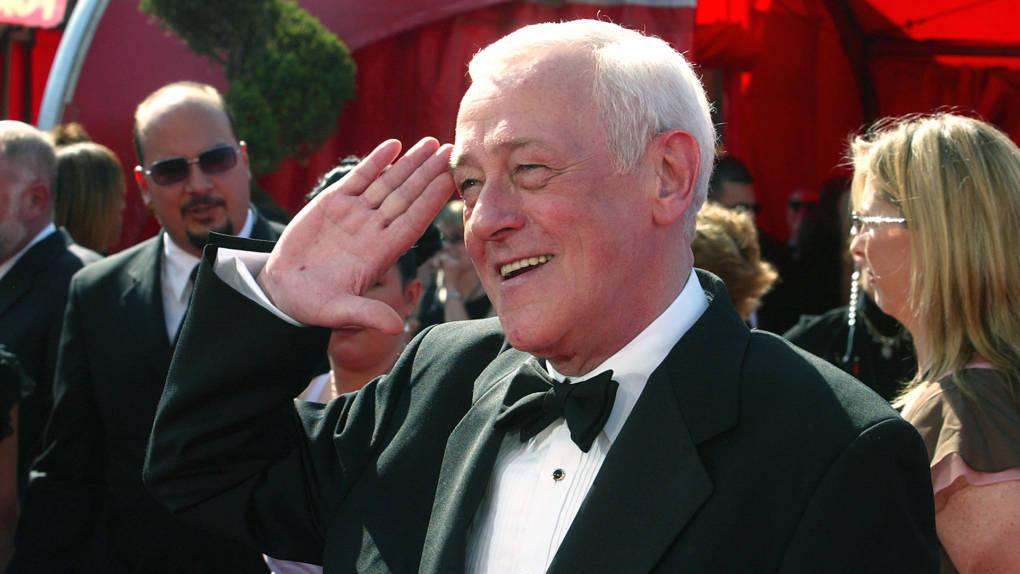 John Mahoney attends the 55th Annual Primetime Emmy Awards