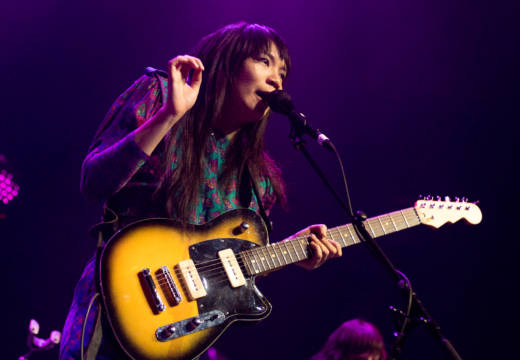 Thao & the Get Down Stay Down plays the 2018 Noise Pop Music and Arts Festival. (Estefany Gonzalez)