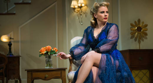 Millie Brooks stars as Billie Dawn in 'Born Yesterday at SF Playhouse