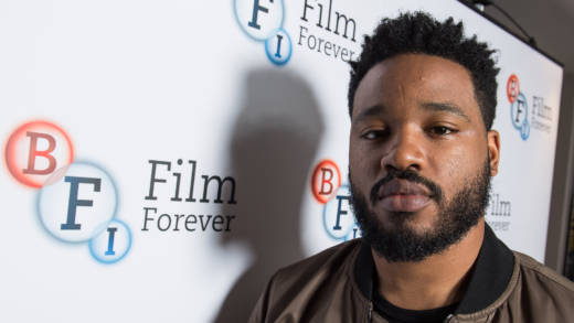 Ryan Coogler attends the 'Black Panther' BFI preview screening held at BFI Southbank on February 9, 2018 in London, England.