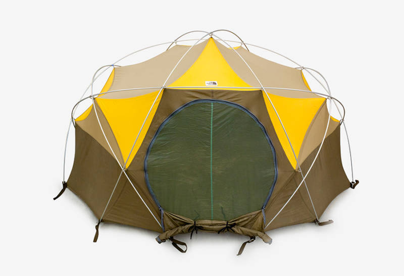 The North Face, Oval Intention tent, 1976.