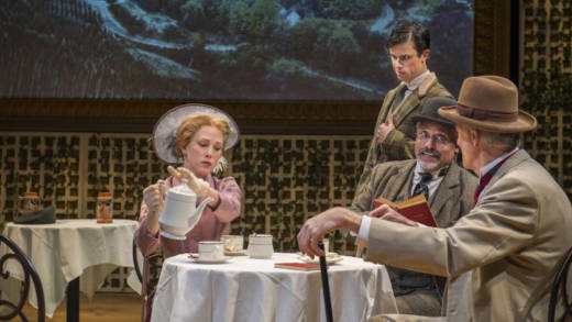 Megan Trout, Dan Hoyle, Michael Gene Sullivan, and Warren David Keith star in George Bernard Shaw's 'Widowers' Houses'