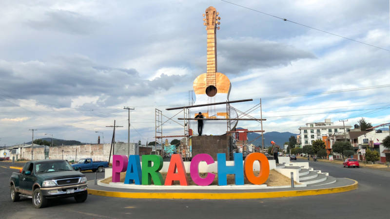The town of Paracho, in the western Mexican state of Michoacán, has a long history of guitar making dating back to the 18th century. The guitar featured in Coco was designed by a former resident of Paracho. Guitar makers in the town have been enjoying a sales boon ever since the movie debuted late last year