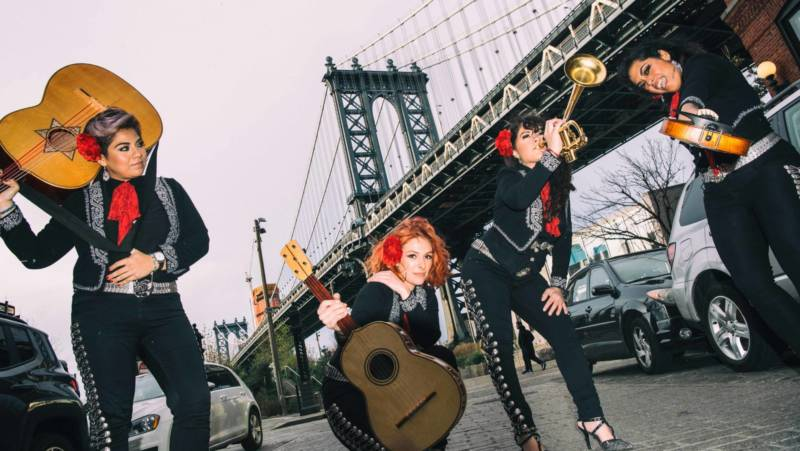 Flor de Tolache is part of the Global Fest tour coming to The Fox in Oakland March 9