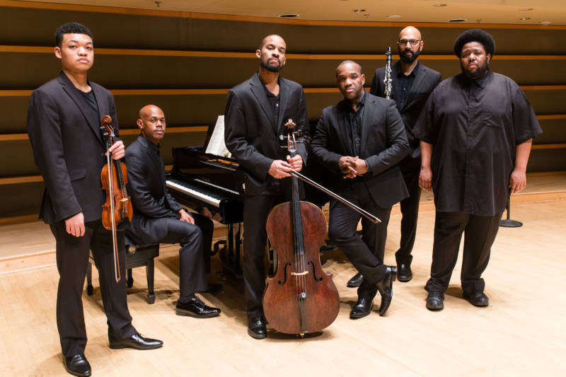 For the Philadelphia premiere of 'Cycles of My Being', Brownlee was joined by Violinist Randall Mitsuo Goosby, pianist Kevin Miller, cellist Khari Joyner, clarinetist Alexander Laing, and composer Tyshawn Sorey