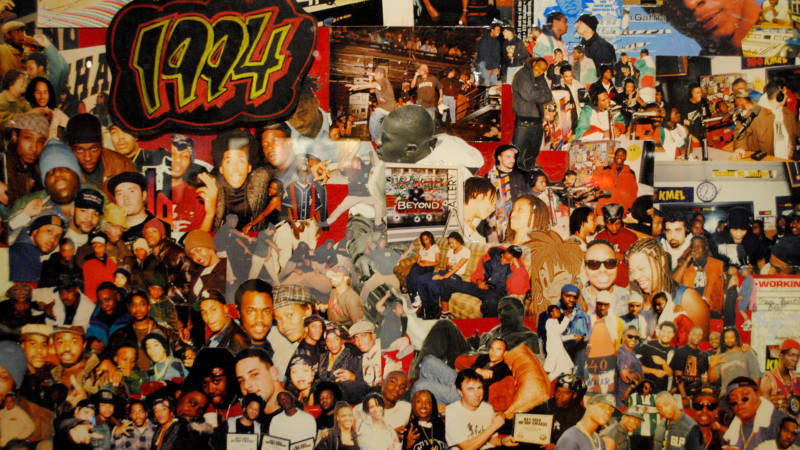 Traci Bartlow's collages of her original concert photos from the '90s.