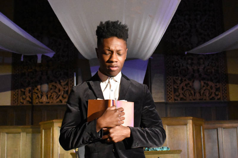 Michael Curry (Marcus) in 'Dance of the Holy Ghosts.'