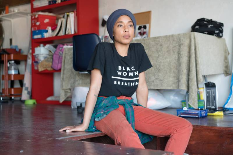 Sasha Kelley co-founded House of Malico to create paths to financial solvency for artists and women of color in the Bay Area.