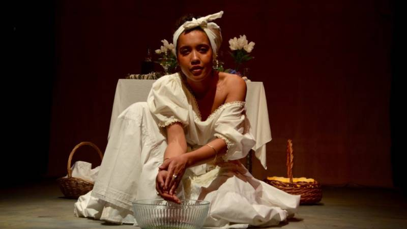 Voo Doo Priestess Marie Laveau (Dezi Solèy) conjures us some spells in the past and for our future present.