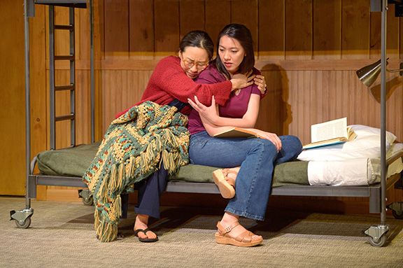 Members of the cast of 'Vietgone' at ACT's Strand Theater