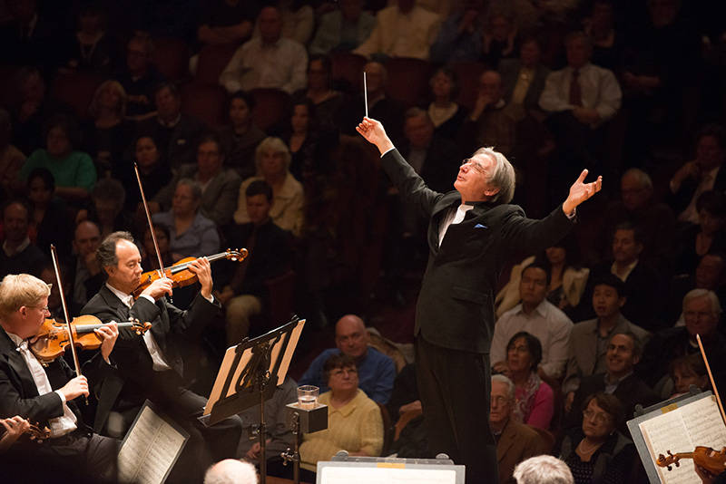 Music director Michael Tilson Thomas.