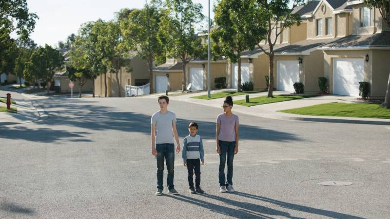'A Wrinkle In Time' follows Meg Murry (Storm Reid), her little brother Charles Wallace Murry (Deric McCabe) and her best friend Calvin O'Keefe (Levi Miller) in their adventures through space and time.