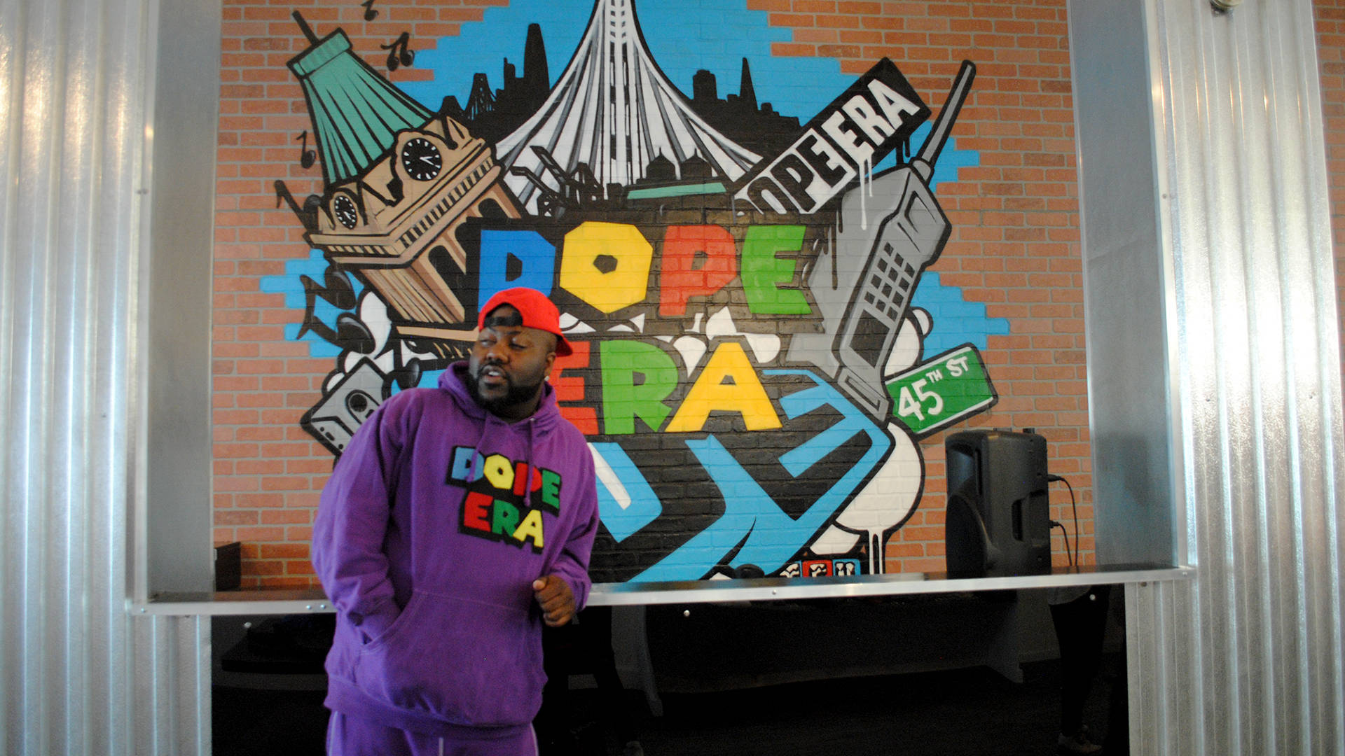 Mistah F.A.B. opened his new Dope Era store on 20th and Broadway in Downtown Oakland in March 2018. Nastia Voynovskaya