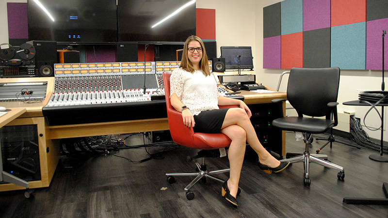 MaryClare Brzytwa, the San Francisco Conservatory of Music's Associate Dean for New Media and Music Technology, conceptualized the conservatory's new Technology and Applied Composition program.