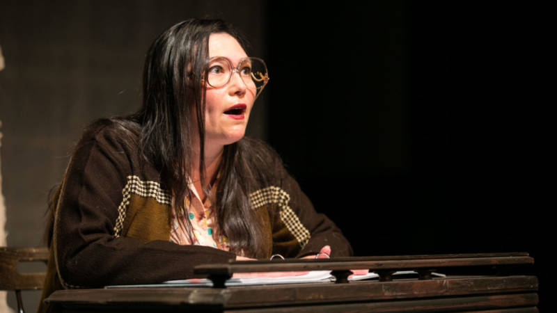 Aiko Herzig-Yoshinaga (Heidi Kobra) makes a discovery that throws new light on the injustices of the Japanese internment.