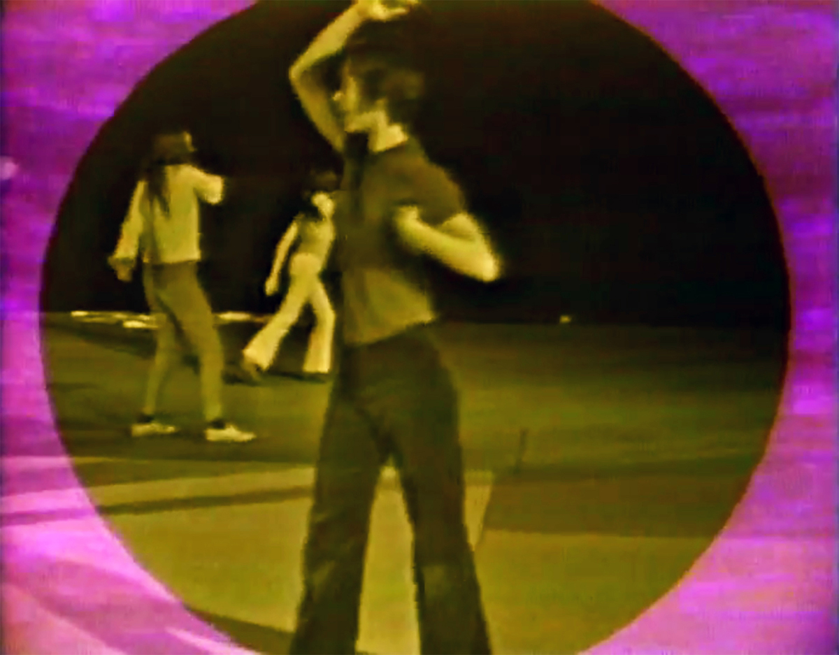 Yvonne Rainer, Still from 'Dance Fractions for the West Coast,' c. 1968-1969