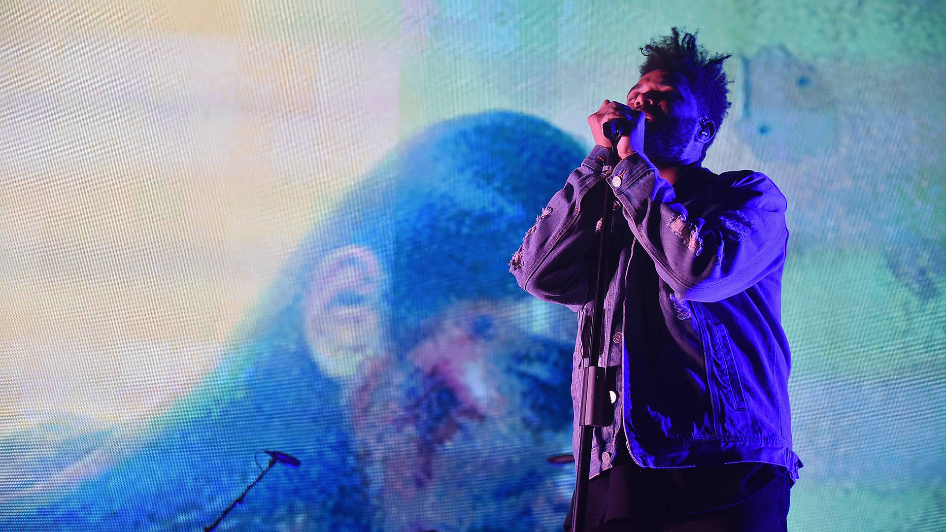 The Weeknd performs onstage during 105.1's Powerhouse 2017 at the Barclays Center on October 26, 2017 in the Brooklyn, New York City City.  Theo Wargo/Getty Images for iHeartMedia
