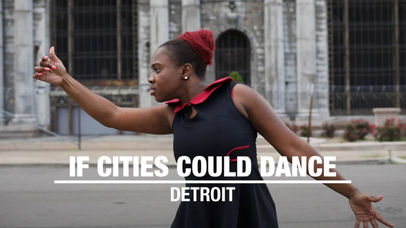"Erika ""Big Red"" Stowall dancing in Detroit"