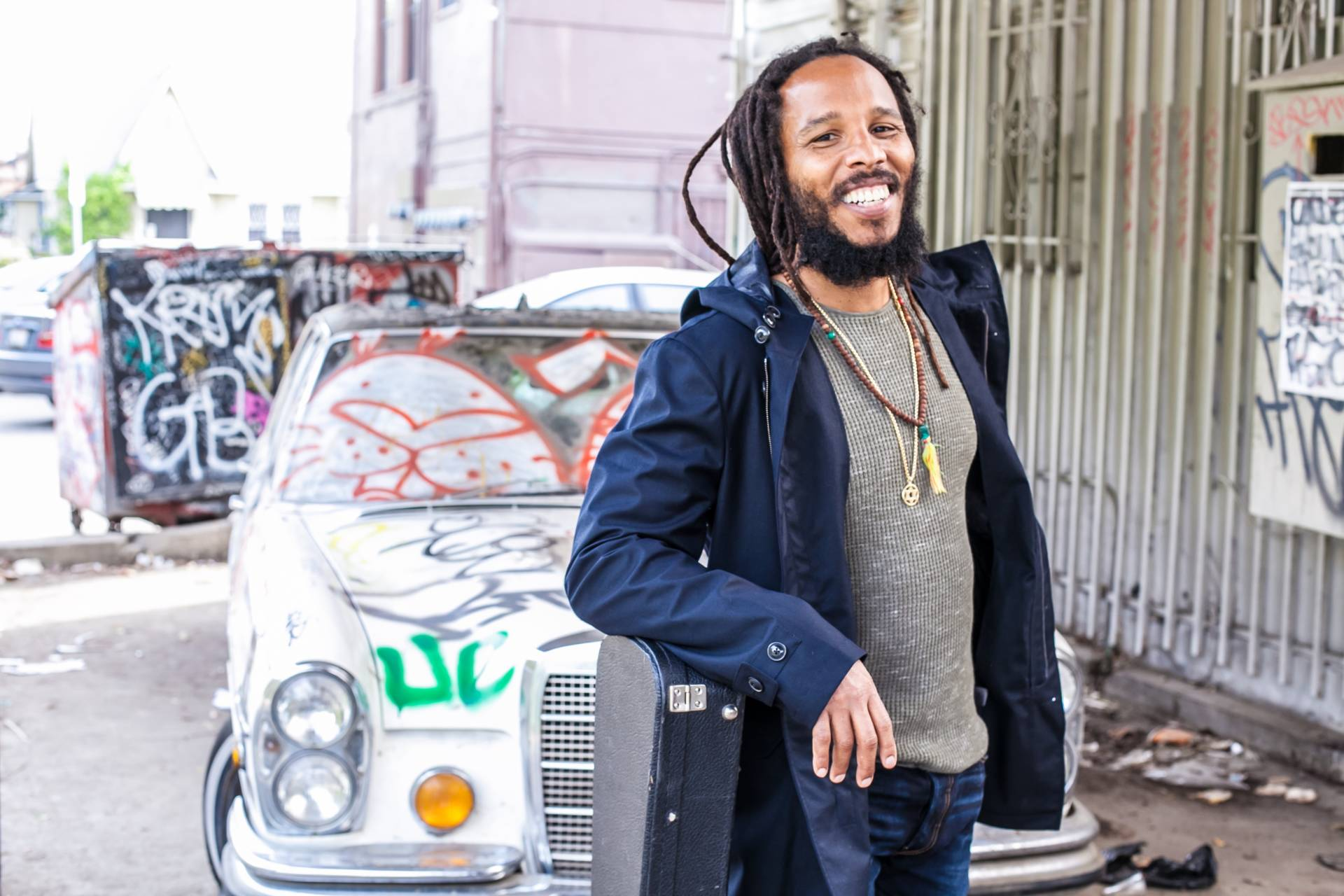 Ziggy Marley performs at Stern Grove Festival on June 24.  Gregory Bojorquez