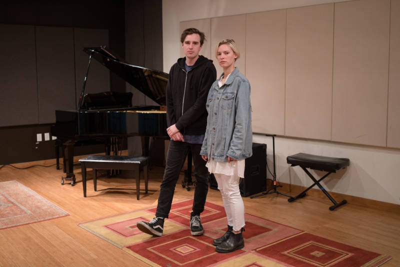 James Jackson and Lilly Hoy's indie rock outfit Yassou regularly collaborates with string quartets and ballets.