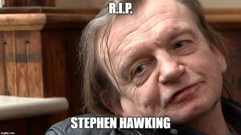 """The meme featuring Fall singer Mark E. Smith that ended the Facebook group """"Too Soon"""""""