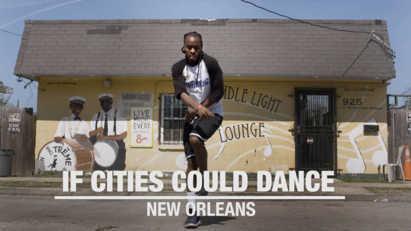 "New Orleans Second Line Dancer Rodrick ""Scubble"" Davis"