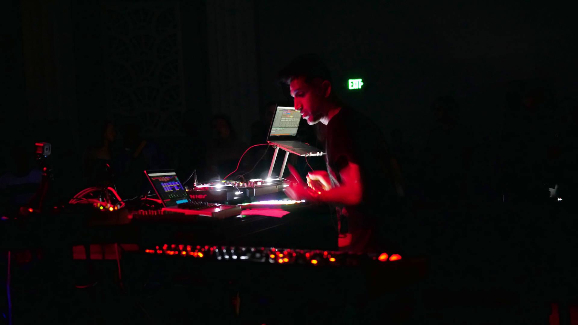 Kush Arora makes industrial techno and kuduro under the monicker Only Now.  Jef Stott