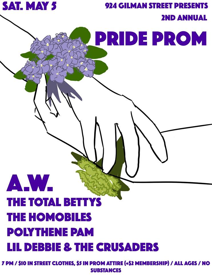 The Pride Prom comes to 924 Gilman
