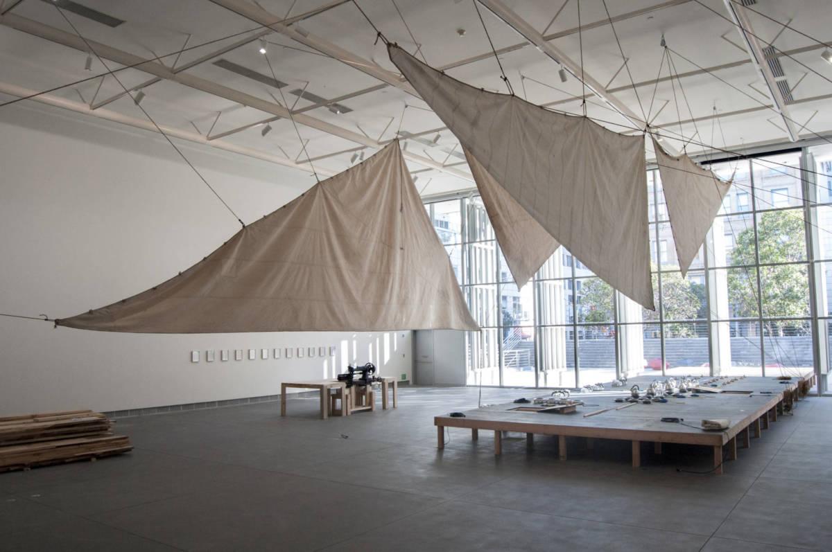 Futurefarmers, 'Speculative Machine,' installation view, 2018.