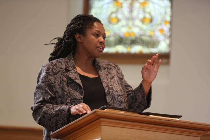 Reverend Yolanda Norton.