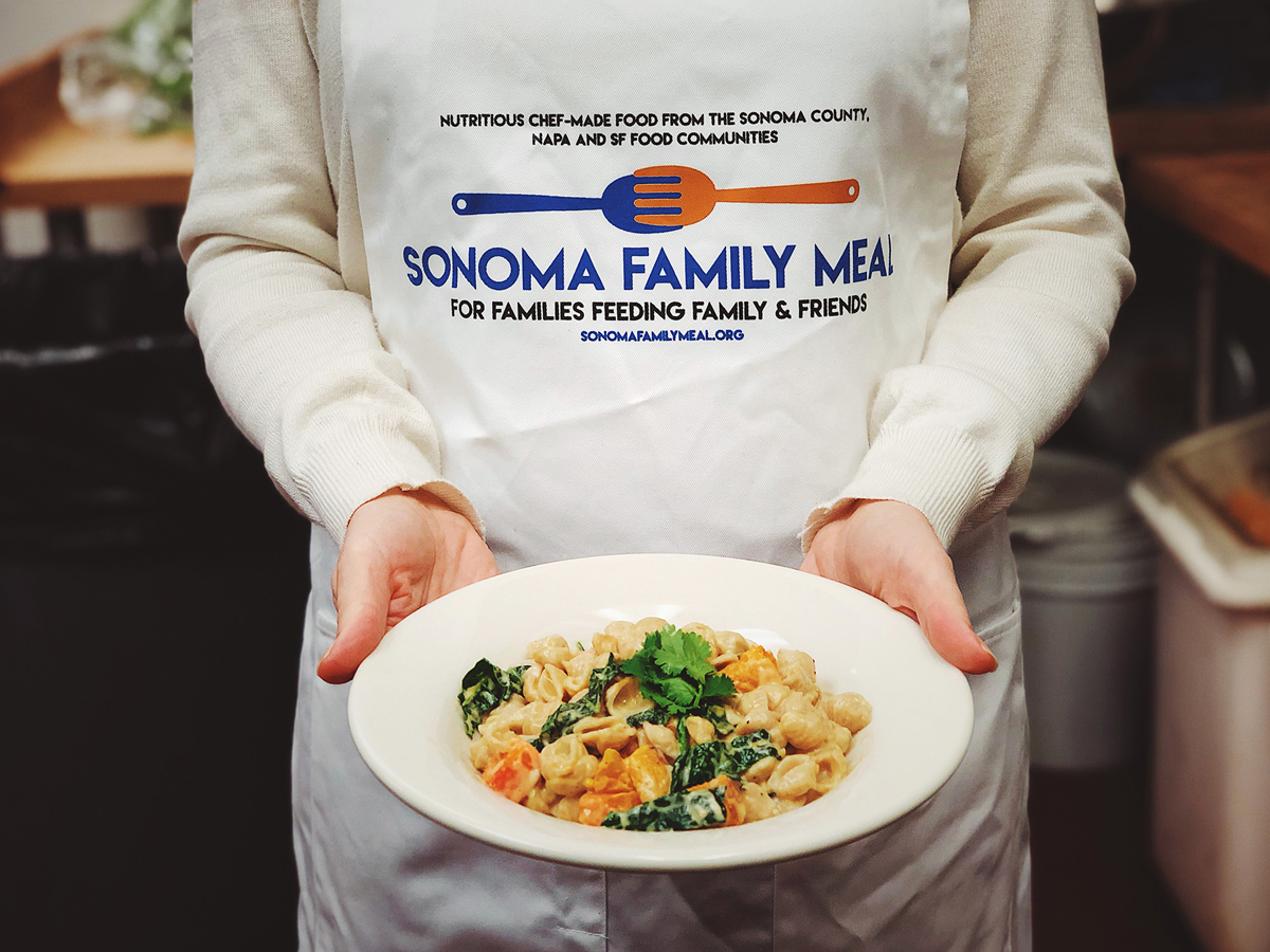 A dish served up by Sonoma Family Meal.