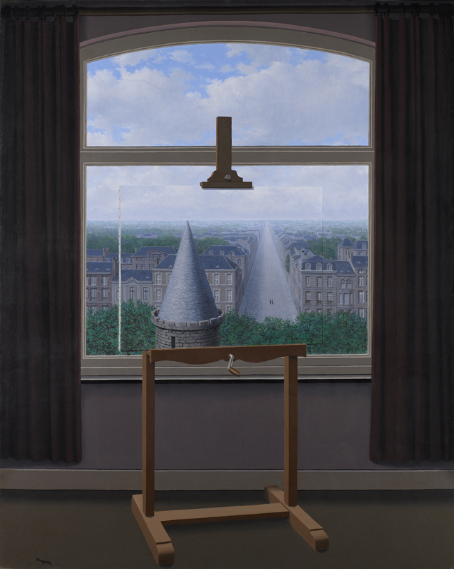 René Magritte, 'Where Euclid Walked,' 1955.