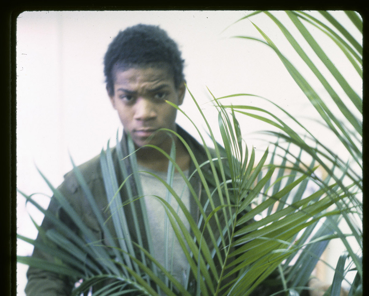 Jean-Michel Basquiat in 'Boom for Real.'