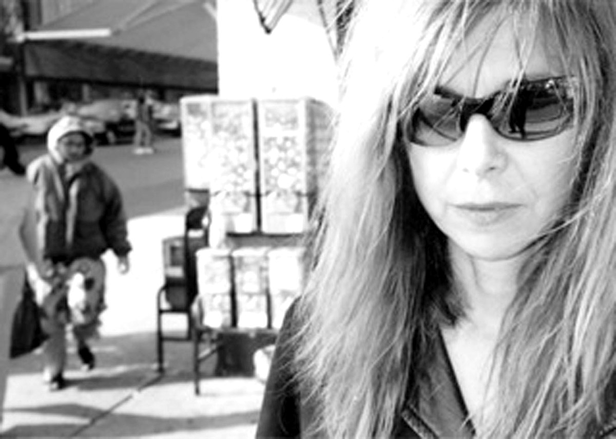 Sara Driver, director of 'Boom for Real.'