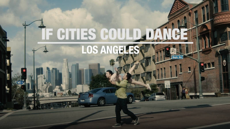 Dancers Spin Through a Los Angeles Rarely Seen on the Silver Screen