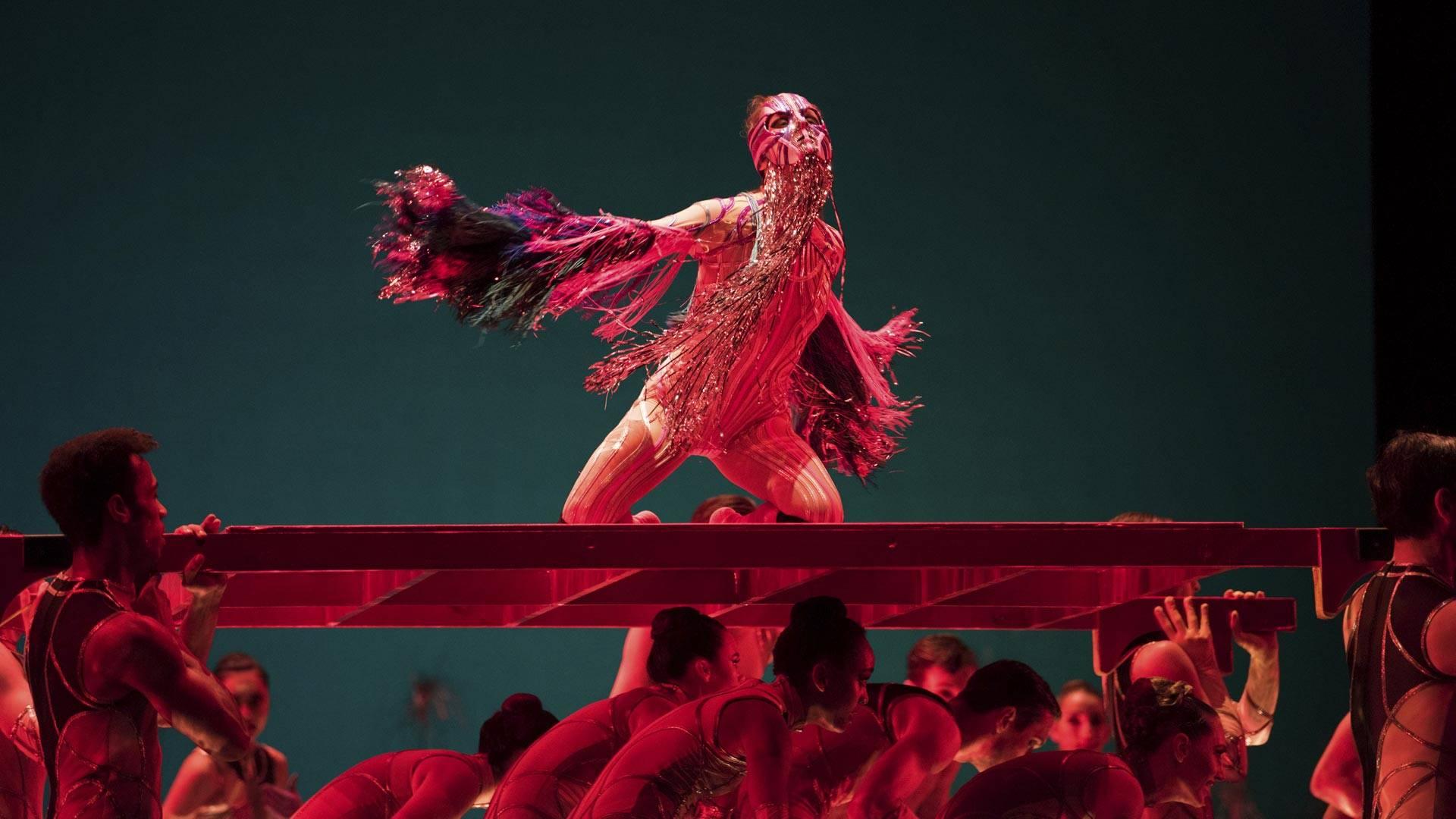 Maria Kochetkova in Pita's 'Björk Ballet.' (© Erik Tomasson)