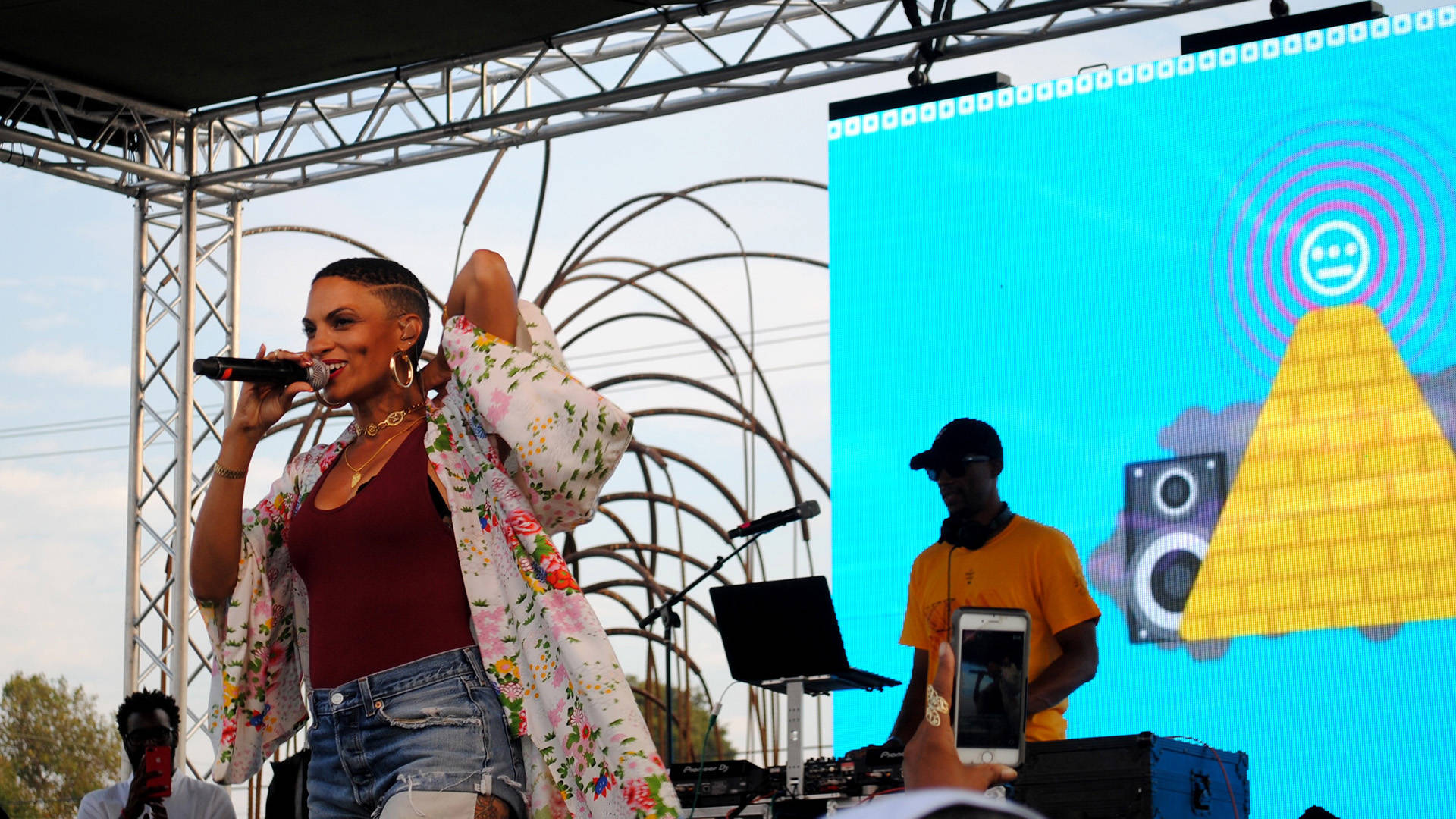Goapele is set to headline San Jose Jazz Summer Fest on Aug. 10, 2018. Nastia Voynovskaya